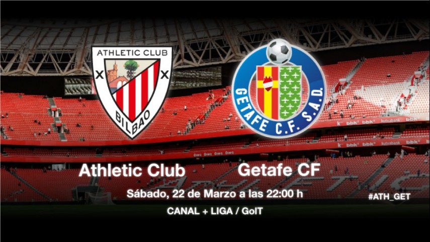 El Getafe quiere sorprender al Athletic
