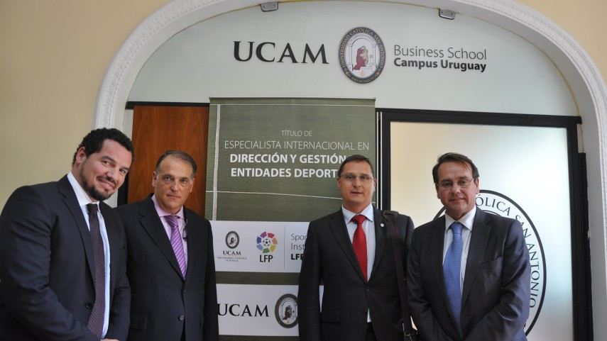 El Sports Management Institute LFP-UCAM ya es una realidad en Uruguay