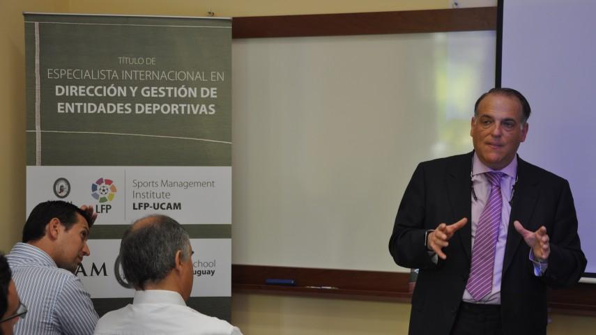 Brasil se une al Sports Management Institute LFP-UCAM