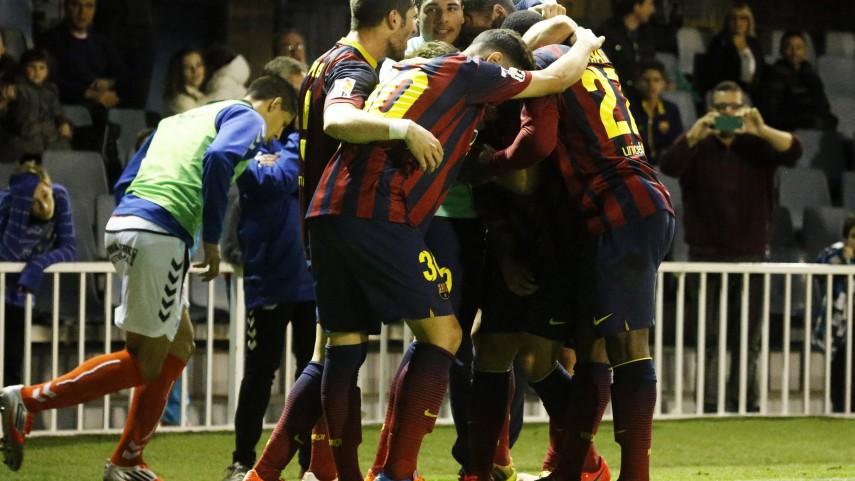 El Barcelona B se acomoda en el triunfo
