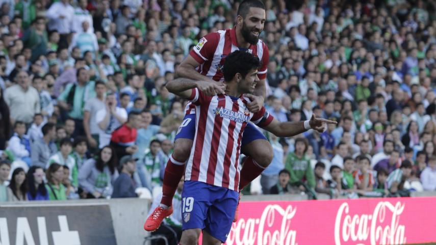 El Atlético, nuevo líder de la Liga BBVA