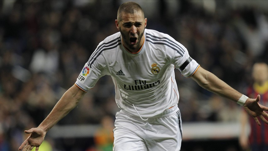 Karim Benzema, blanco hasta 2019