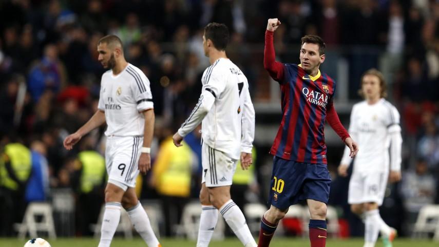 El Barcelona recorta en el clásico