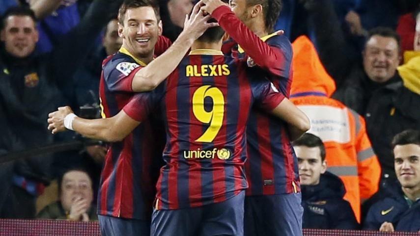 El Barcelona no cede en el Camp Nou