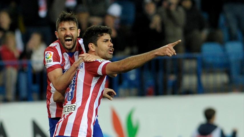 Diego Costa mantiene al Atlético líder