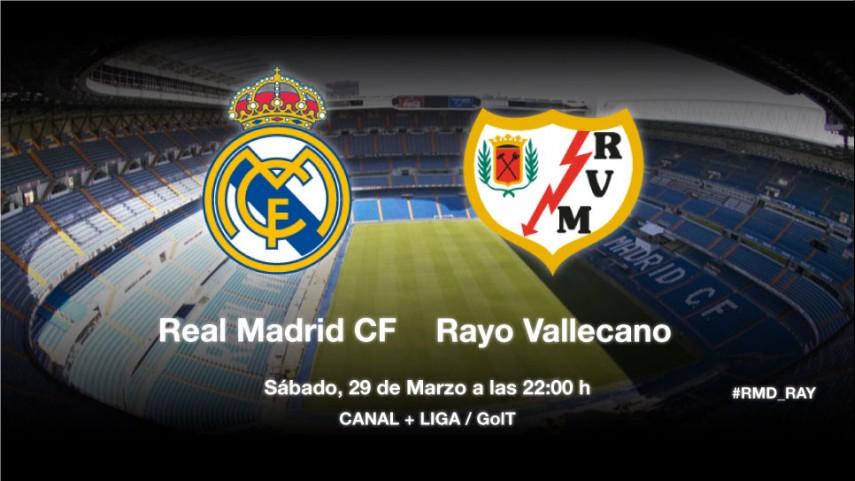 El mejor Rayo llega al Bernabéu