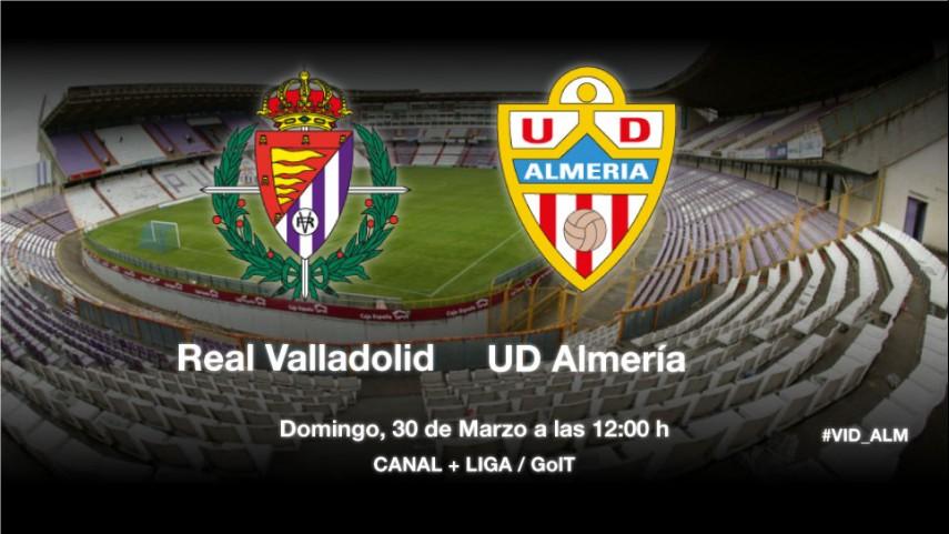 El Almería mide la necesidad del Valladolid