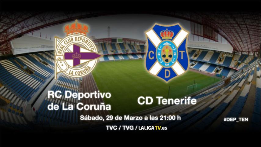 El Deportivo examina a buen Tenerife