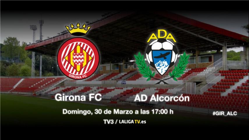 Primera final para Girona y Alcorcón
