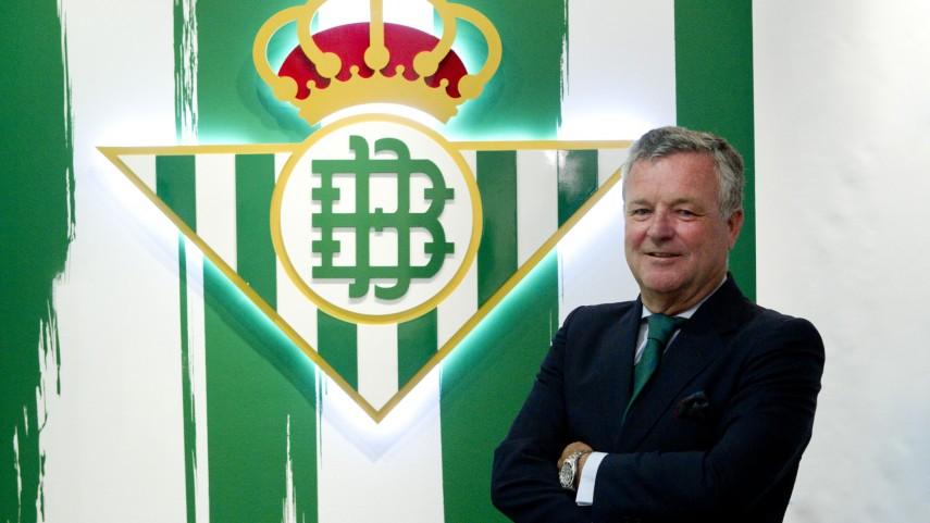 Manuel Domínguez, nuevo presidente del Betis