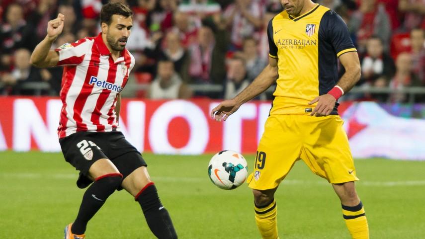 Diego Costa y Koke mantienen líder al Atlético