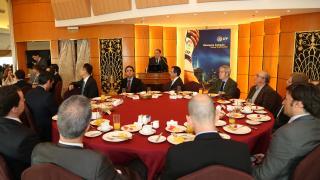 Encuentro entre la LFP y la Cámara de Comercio de España en Pekín