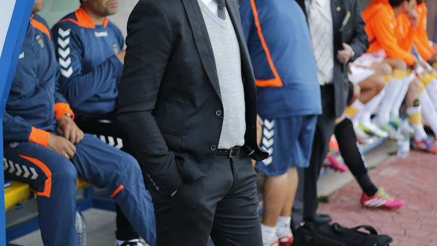 Sergio Lobera, destituido como técnico de Las Palmas