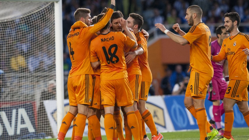 El Real Madrid se mantiene en la lucha