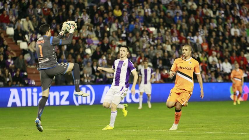 El Valladolid resiste ante el Valencia