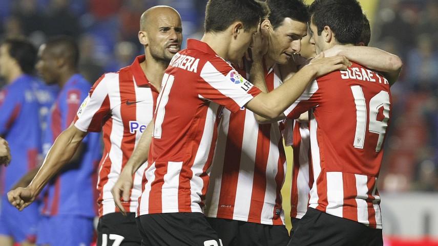 El Athletic afianza la cuarta plaza en el Ciutat