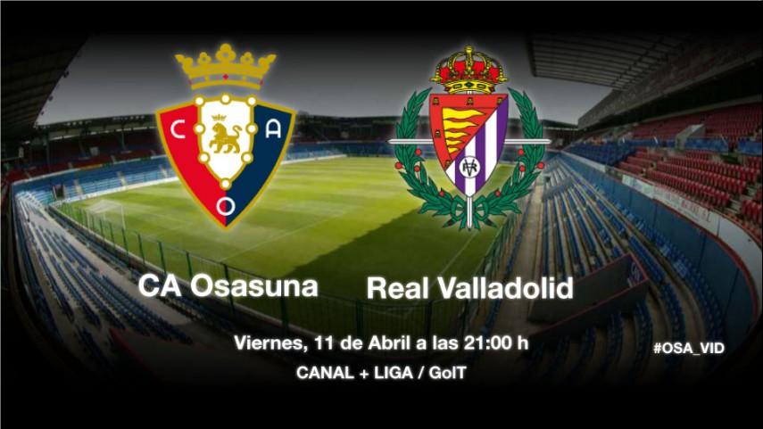 Osasuna y Valladolid buscan la tranquilidad