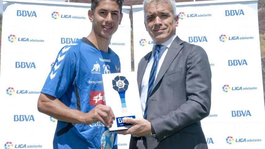 Ayoze Pérez, mejor jugador de la Liga Adelante de marzo
