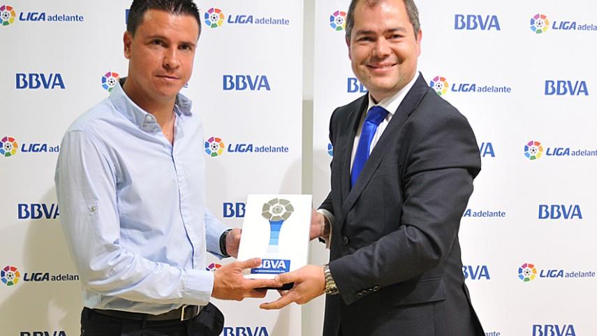 Sergio Lobera, mejor entrenador de la Liga Adelante de marzo