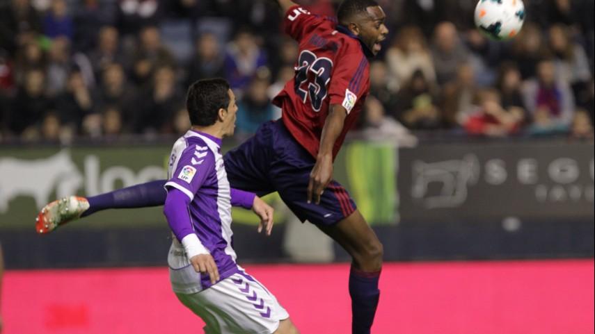 Osasuna y Valladolid suman un punto más