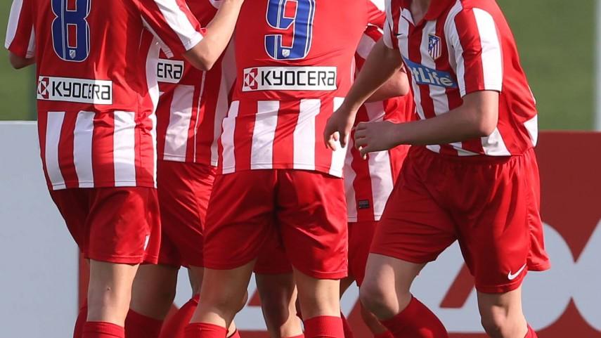 El Atlético, campeón de la final de oro del I LFP Aspire Challenge sub-15