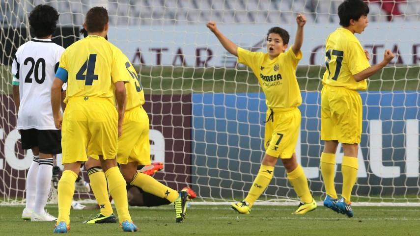 El Villarreal sigue con paso firme en el I LFP Aspire Challenge
