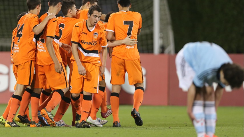 El Valencia lidera el grupo C