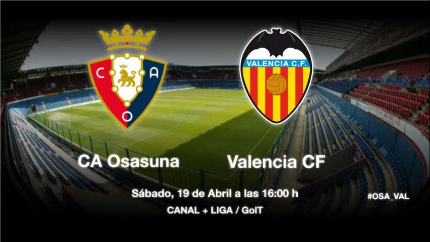 Duelo de oportunidades para Osasuna y Valencia