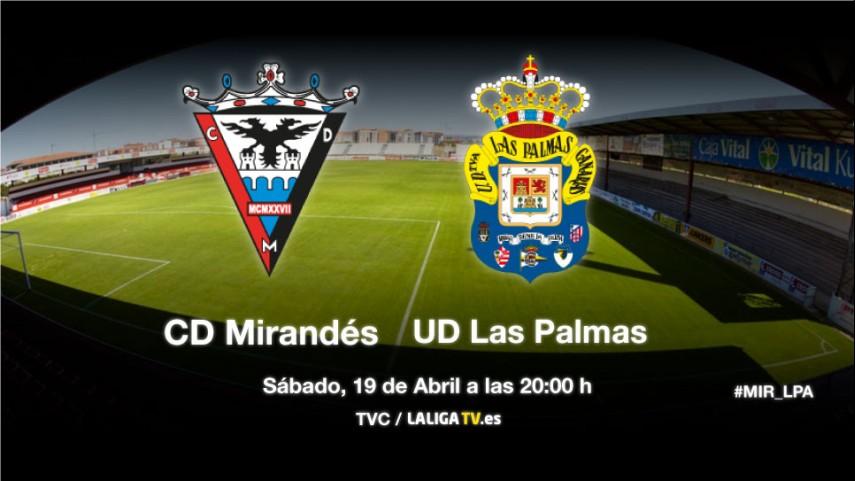 Anduva examina a Mirandés y Las Palmas