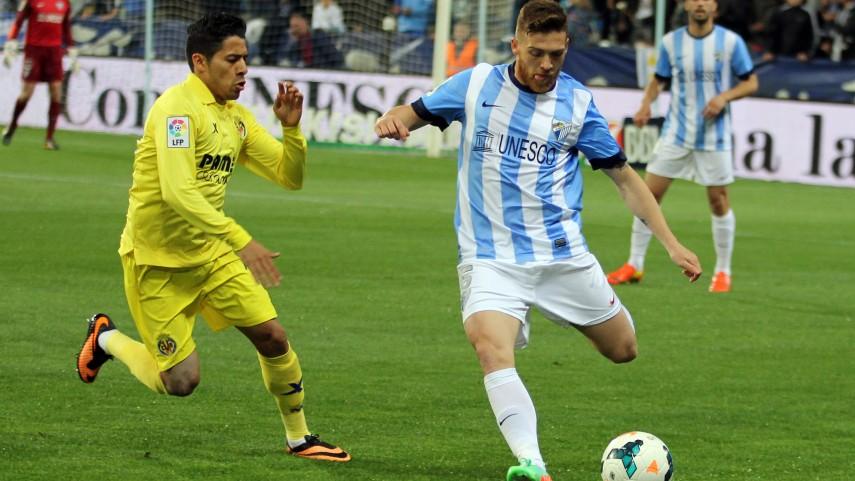 El Málaga se crece ante el Villarreal
