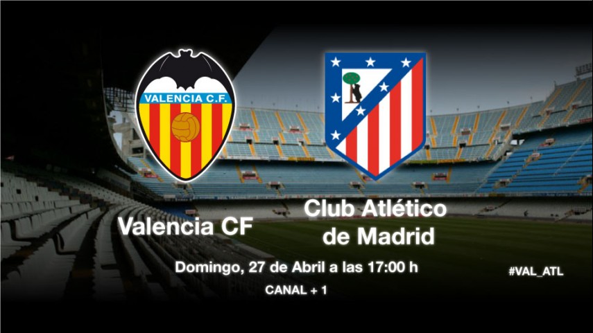 El Valencia mide la solidez del Atlético