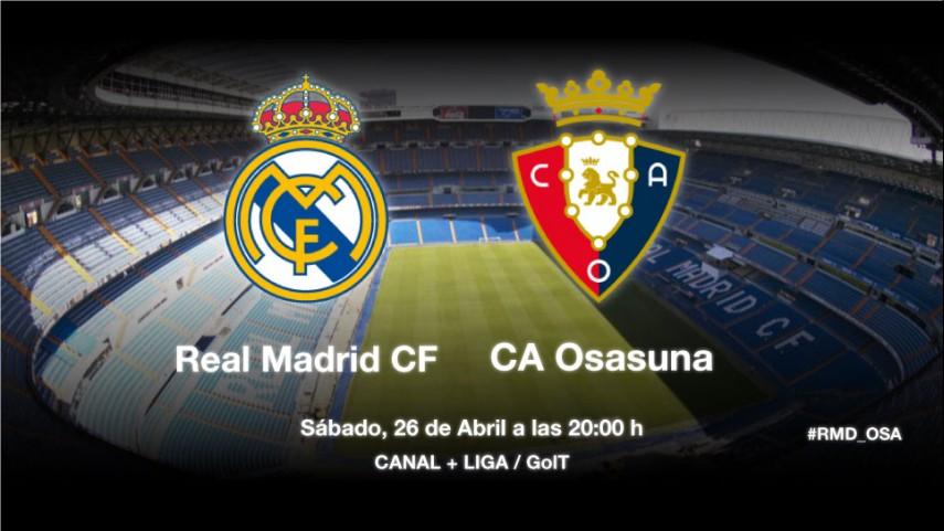 Osasuna busca la permanencia en el Bernabéu