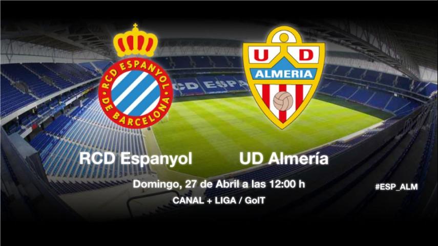 El Almería, a por un triunfo esperanzador
