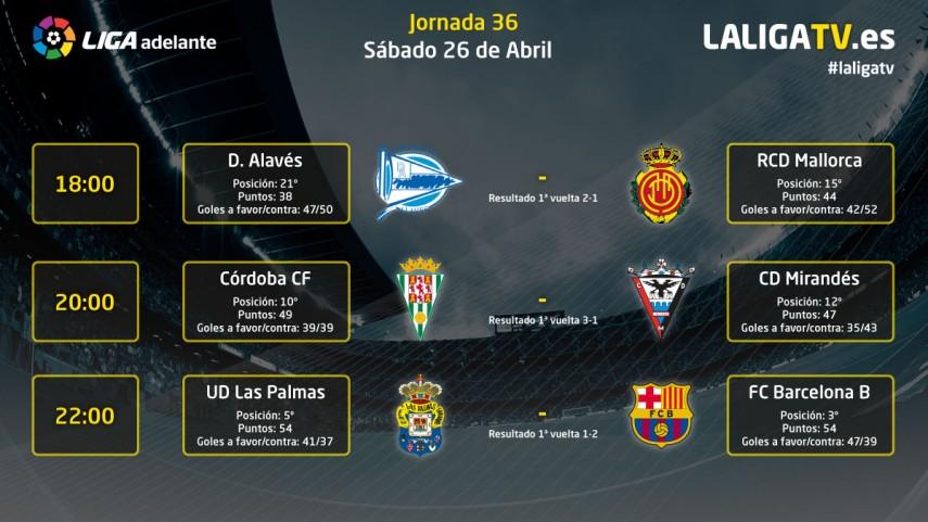 Sábado de emociones con La Liga TV