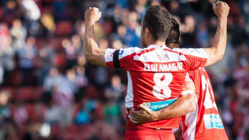 El Girona no perdona ante el Zaragoza