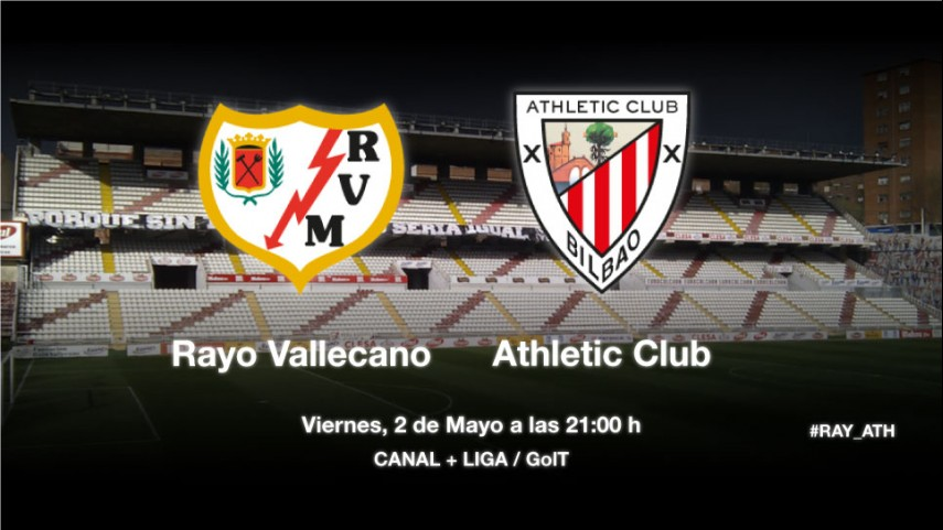 El Athletic busca la gloria en Vallecas