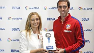 Godín, mejor jugador de la Liga BBVA en abril