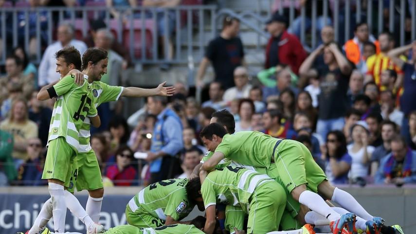 Elche, Getafe y Valladolid se agarran a la Liga BBVA