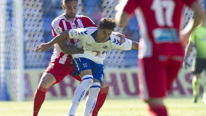 El Girona sorprende al Tenerife