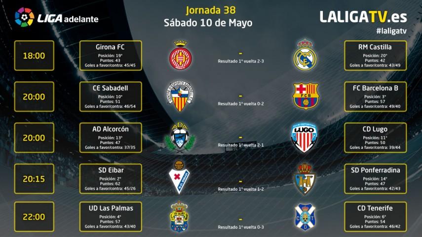 Emocionante jornada de sábado con la Liga TV