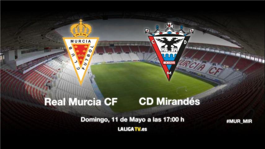 Murcia y Mirandés miden su ambición en la Condomina