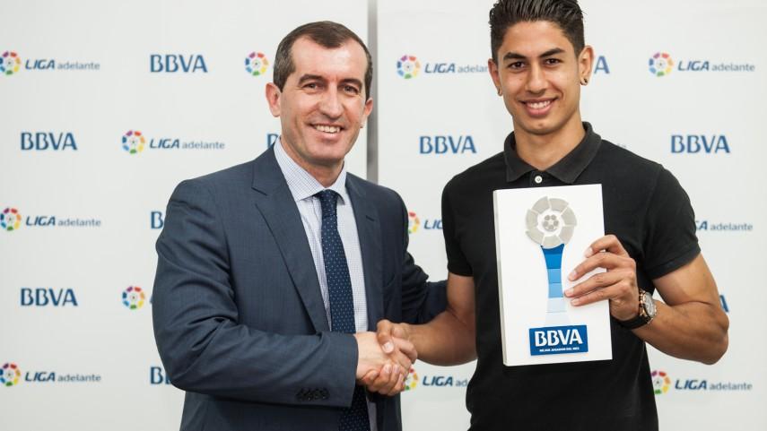 Ayoze Pérez, mejor jugador de la Liga Adelante en abril