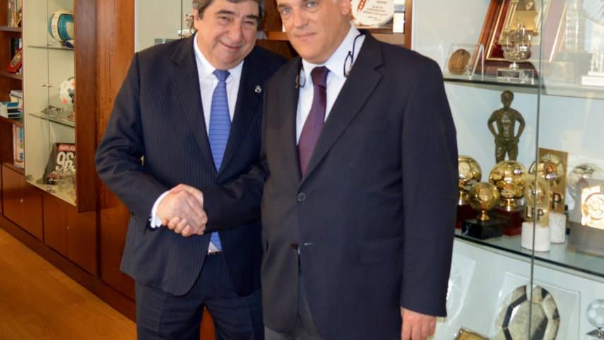 Augusto César Lendoiro, embajador de la LFP