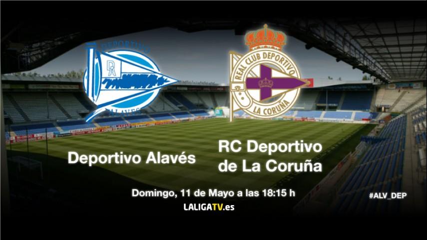 El Alavés-Deportivo, en directo por La Liga TV