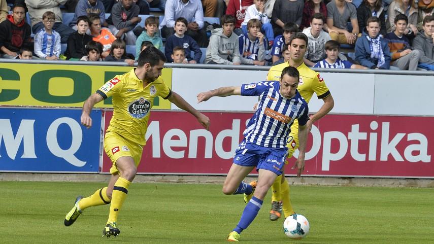 Borja Bastón evita la sorpresa en Mendizorroza