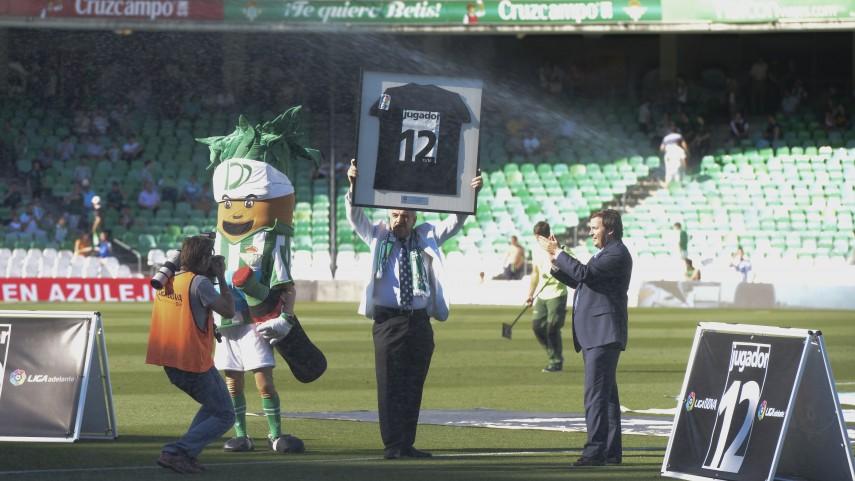La afición del Real Betis Balompié, premio 'Jugador número 12'