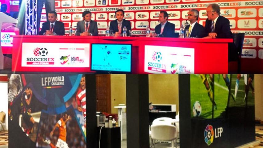 La LFP, presente en el Foro Soccerex