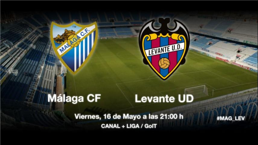 Málaga y Levante, a despedir la temporada con victoria
