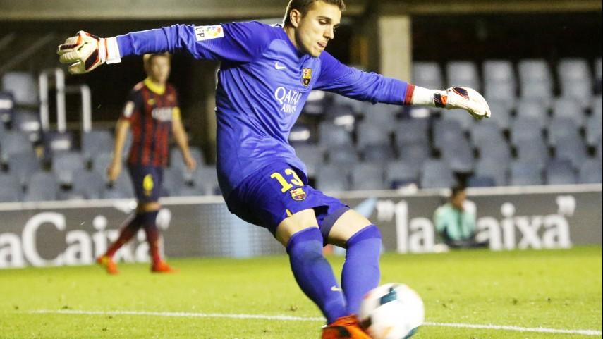Masip, lesionado en el Barcelona