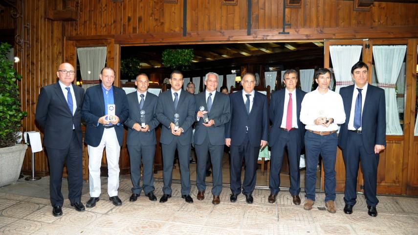 Andoni Imaz y Quini, mejores delegados de la Liga BBVA y la Liga Adelante